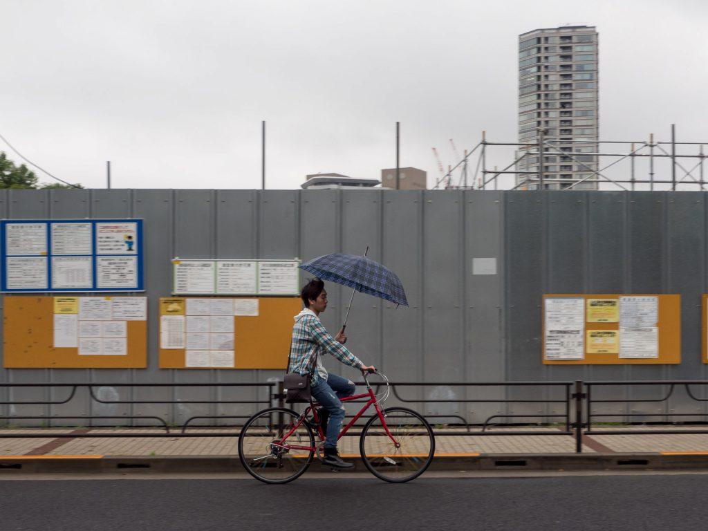 If it is raining, you take an umbrella.